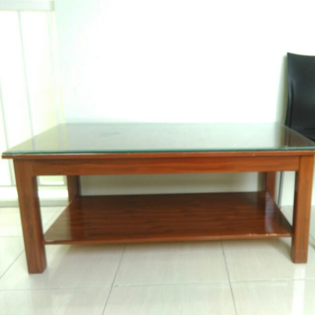 coffee table meja ruang tamu brand new