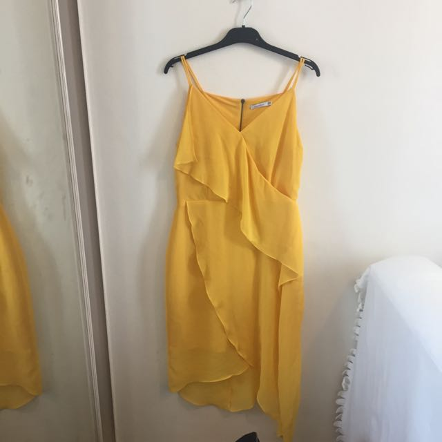 Cooper St Yellow Dress Size 10