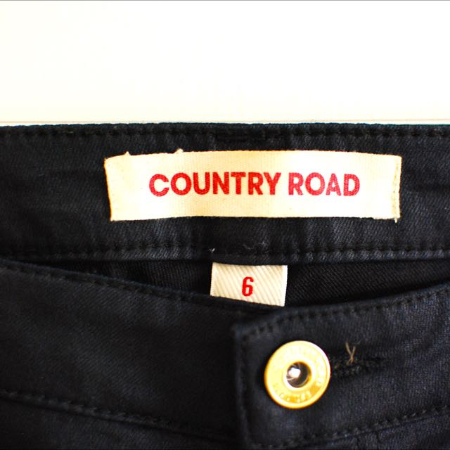 Country Road Navy Stretch Jeans