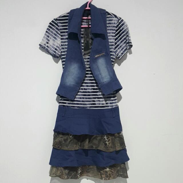 Denim Dress Import