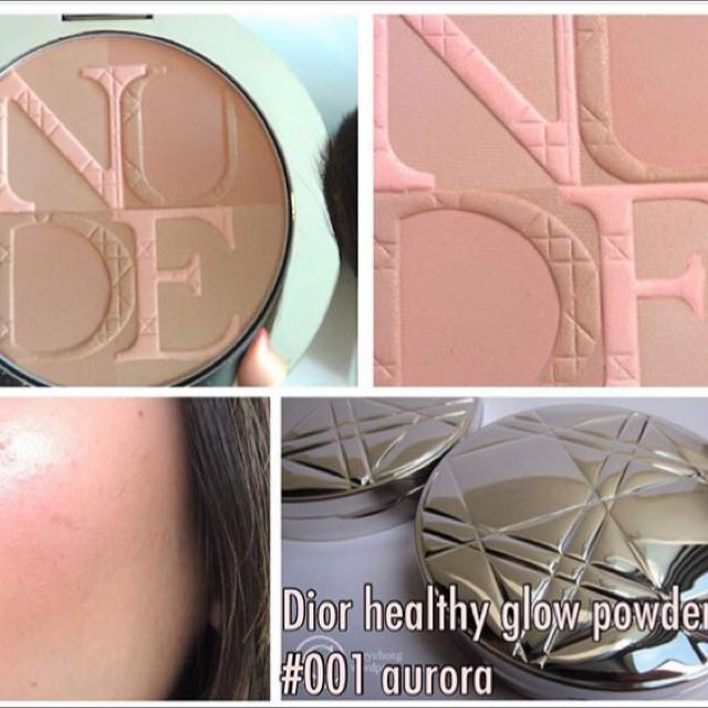 Dior Heathy Glow Powder #001 Aurora