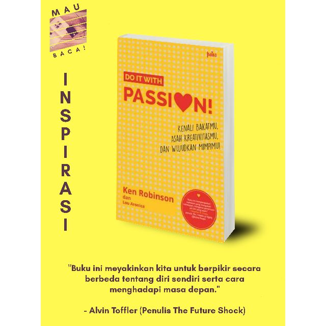 Do It With Passion! (Ken Robinson & Lou Aronica)