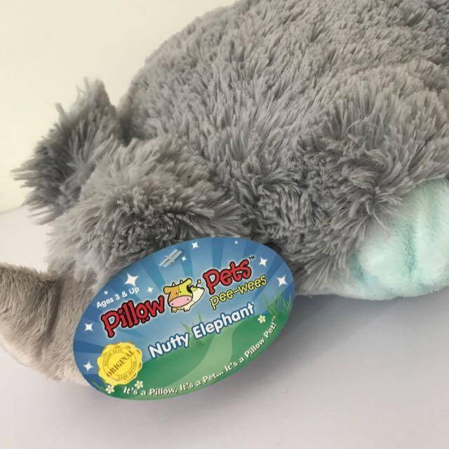 Elephant Pillow Pet 🐘