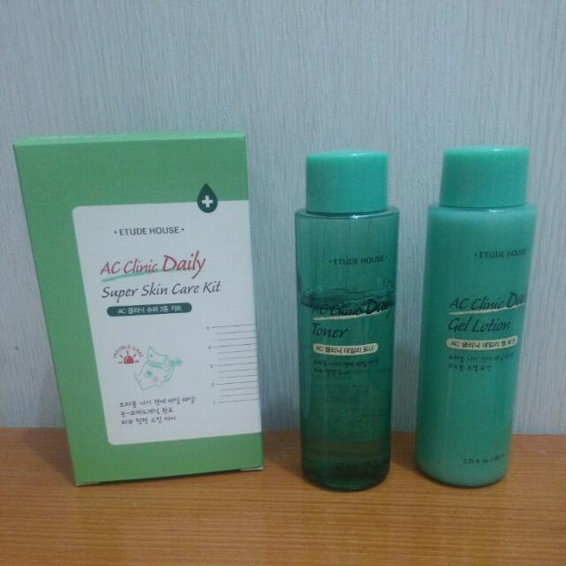 Etude House AC Clinic Daily Super Skin Care Kit