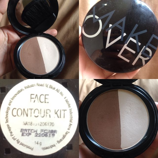 Face Countour Kit Makeover