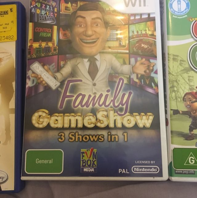 Family Gameshow Wii