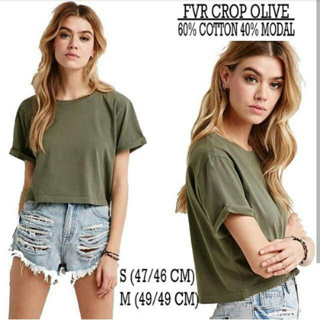Forever21 Crop Tee