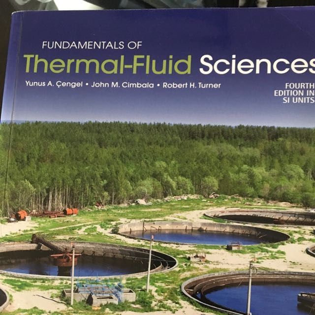 Fundamentals Of Thermofluid Sciences Cengal, Cimbala, Turner - 4th Edition