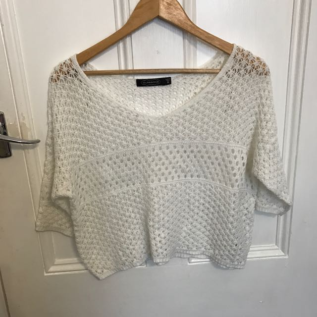 Glassons White Top/jumper
