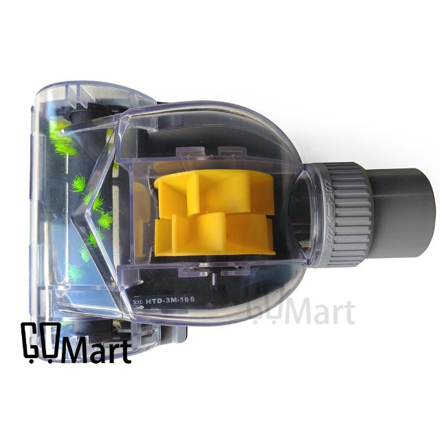 【GoMart】氣動 渦輪 震動 除塵蟎吸塵器 刷頭 吸塵器頭 除蟎刷頭 風動 配件 輪滾刷 吸頭32mm 35mm