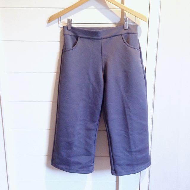 Grey Cullote / Celana Kulot