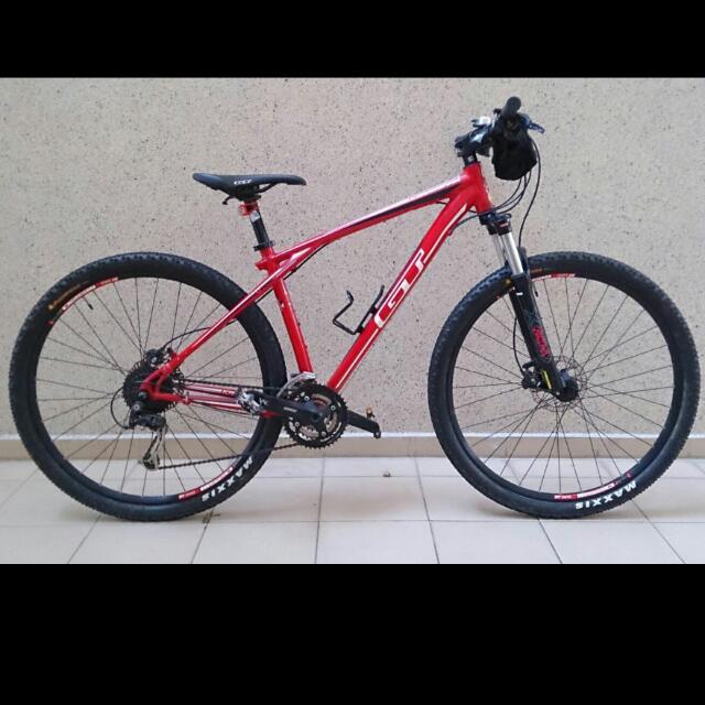 3.0 GT Red Bike 29 Tier