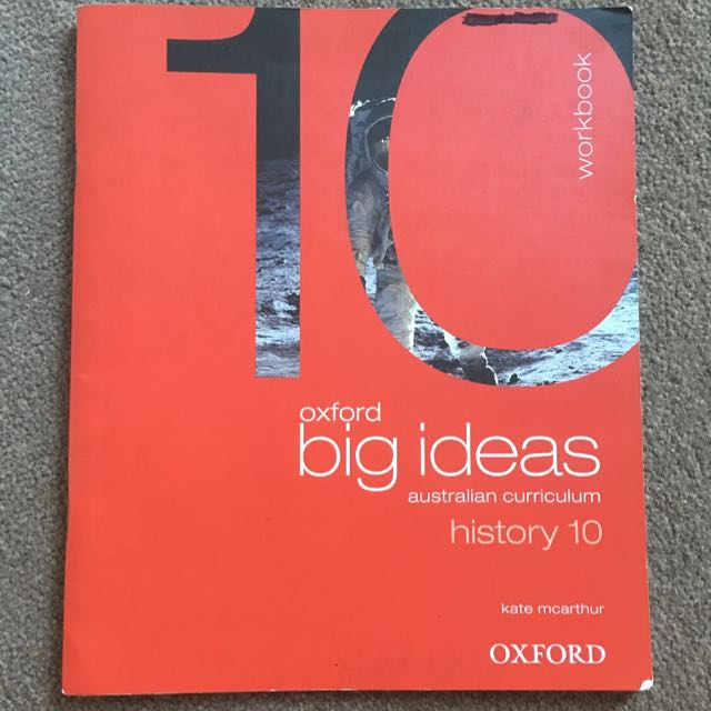 History (Year) 10 Workbook - Oxford Big Ideas