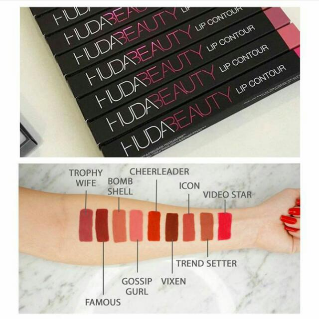 Huda beauty lip countour