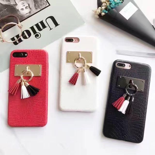 韓國原創鱷魚皮紋半包手機殼iPhone手機殼iphone7/iphone6/plus