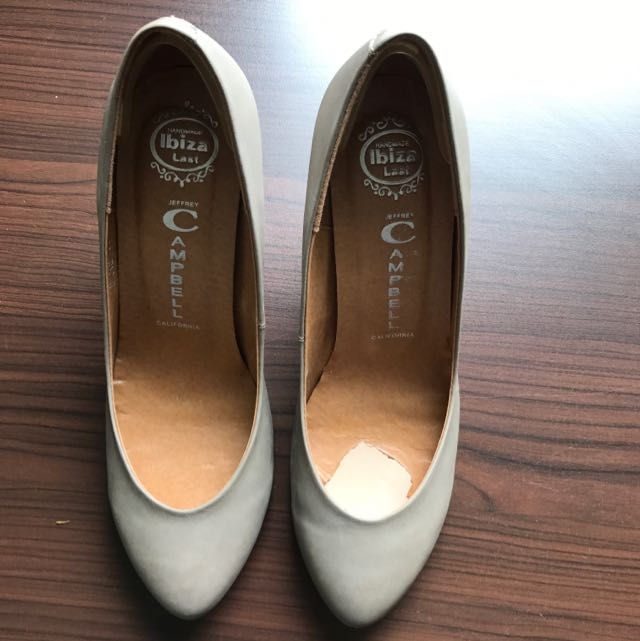 Jeffrey Campbell Grey Heels