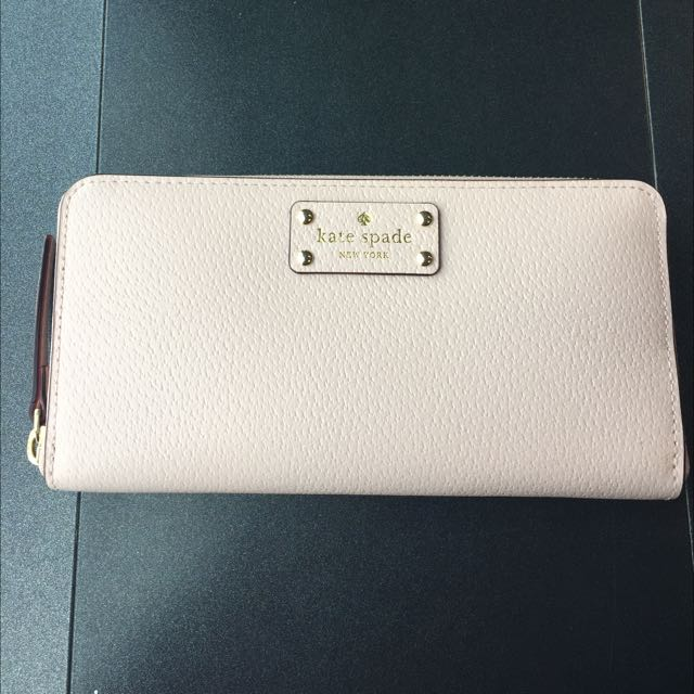 KATESPADE Wallet (Authentic) Baby Pink