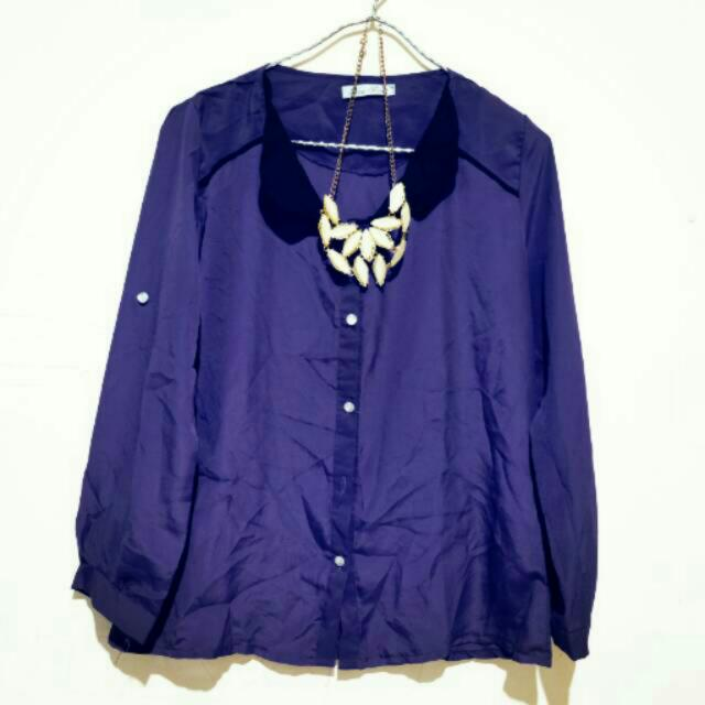 Kemeja Purple