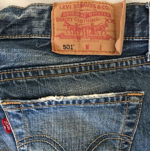 Levi's Original 501 jeans