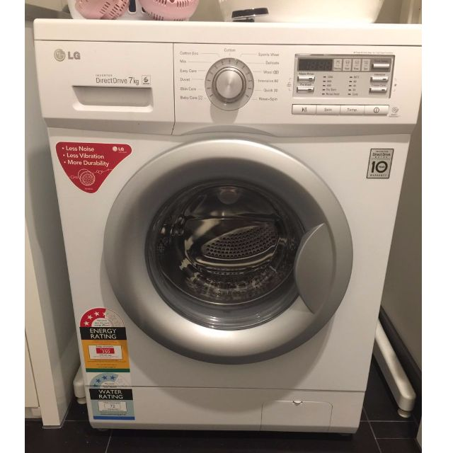 LG 7KG Frontload Washing Machine with LG 10 YEAR WARRANTY!!!