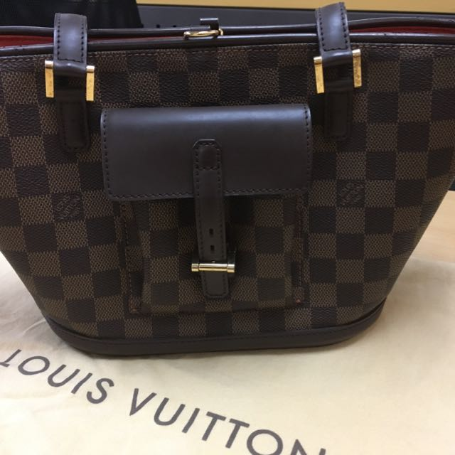 LV Damier Ebene Open Tote - limited edition)