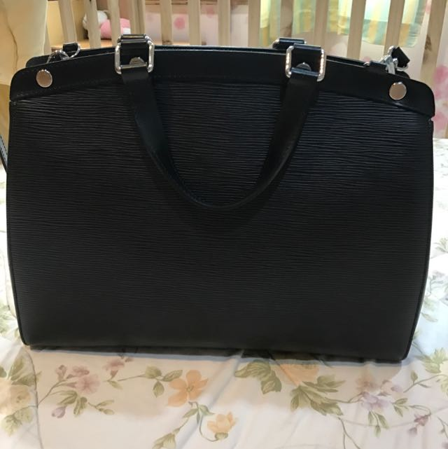 LV Bag Brea Gm Epi Noir