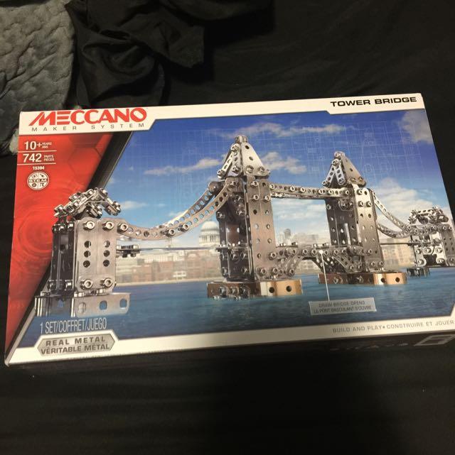Meccano Tower Bridge