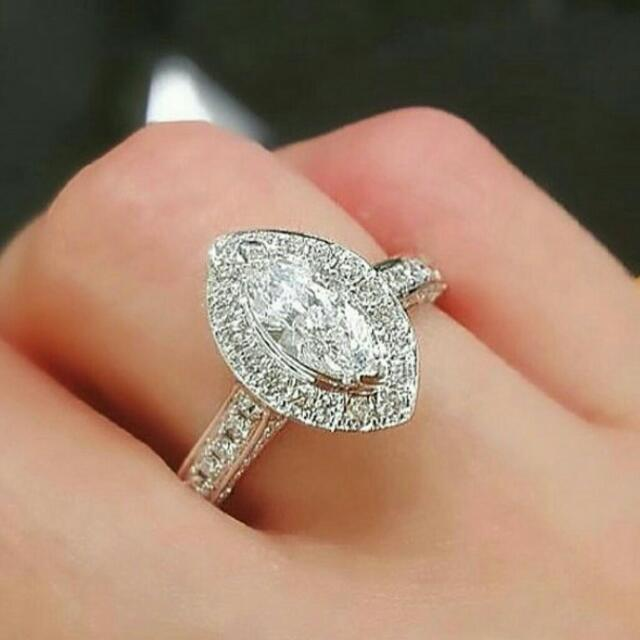 Micro Diamond Ring ( Cincin)