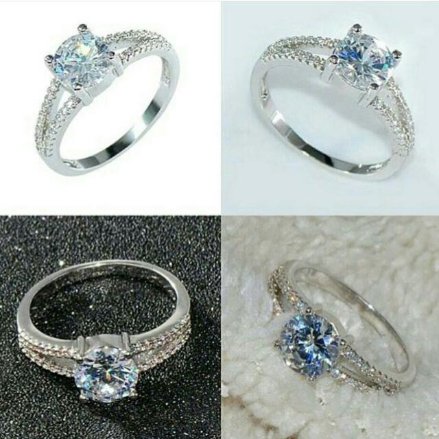 Micro Diamond Ring ( Cincin )