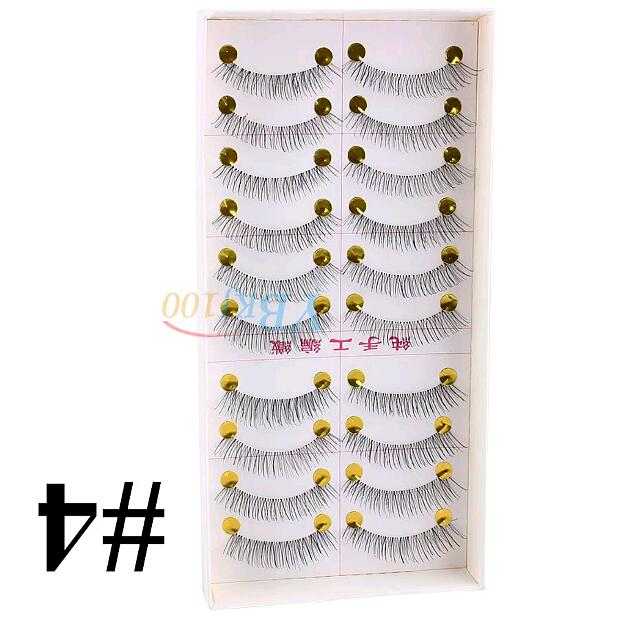Natural Style Lashes ×10 Pairs