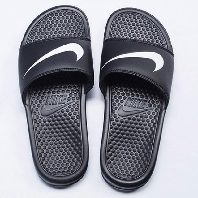 NIKE Benassi Slides Swoosh Men's 10