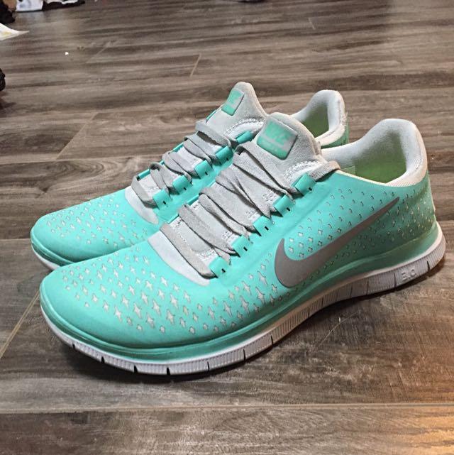 Nike FREE 3.0 Tiffany Blue And Grey