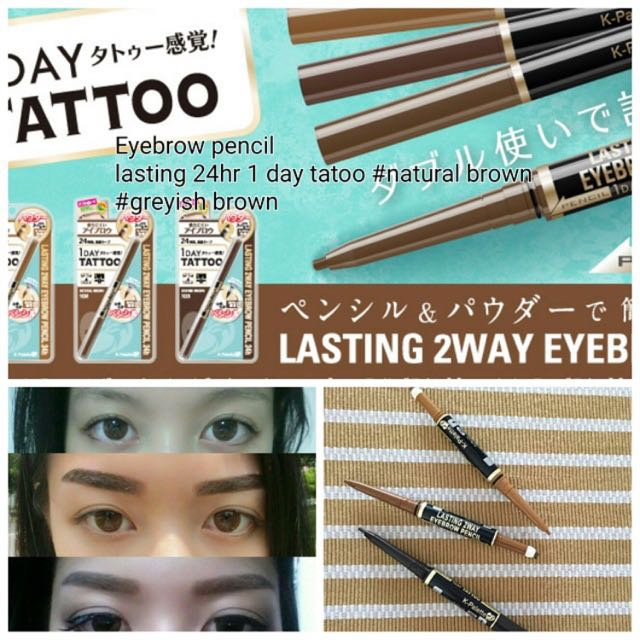 One Day Tattoo Lasting Two Way Eyebrow