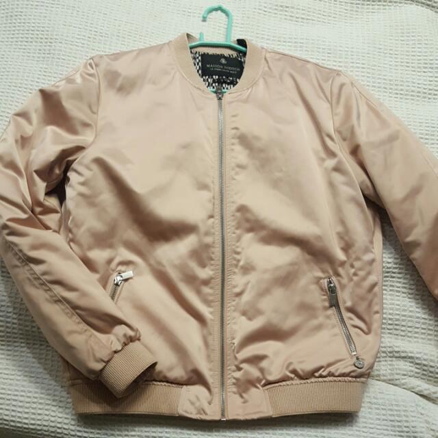 Pink Bomber Jacket Size 8