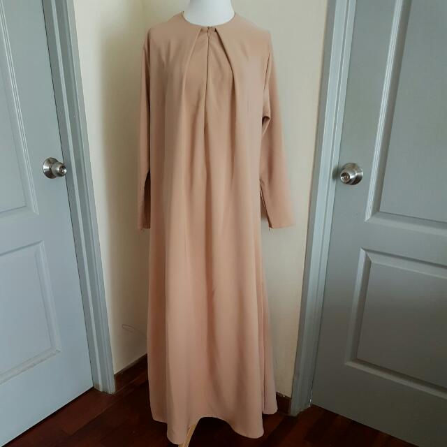 Plain Maxi Dress / Jubah