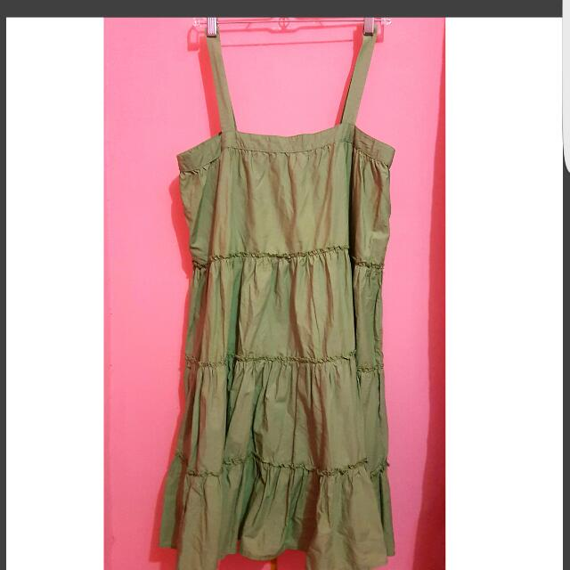 Preloved Green Overall