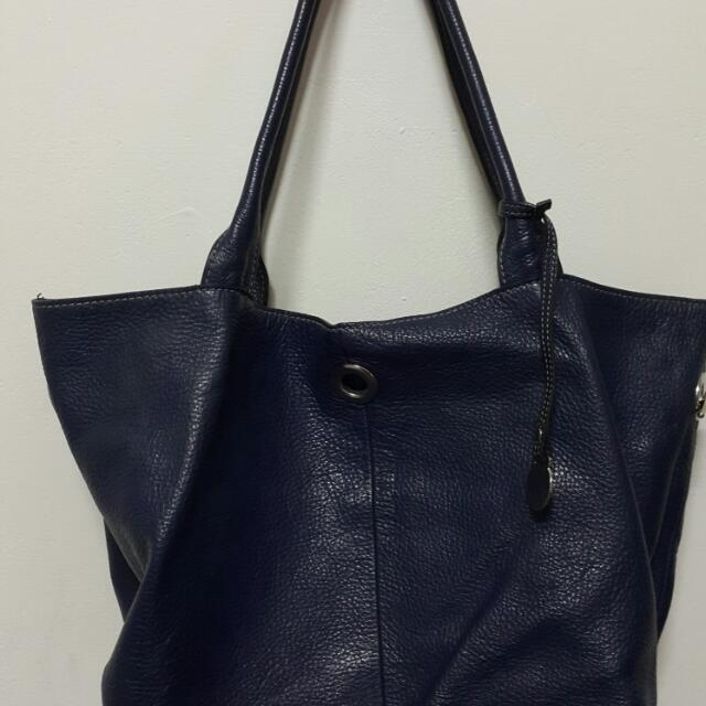 rabeanco.  藍色包包