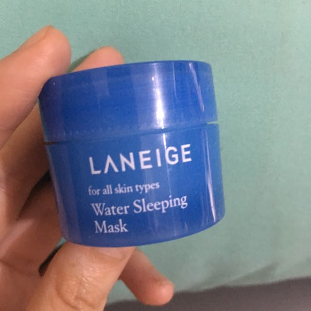 Sample Laneige Water Sleeping Mask
