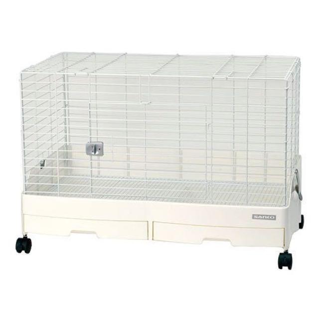 日本SANKO新款兔籠 C62 雙抽屜式