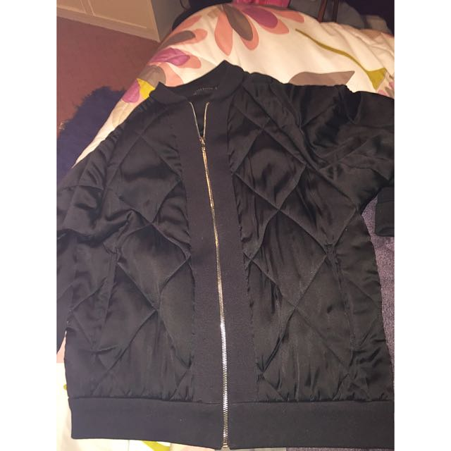 Selling Woman's Oversized Bomber Jacket