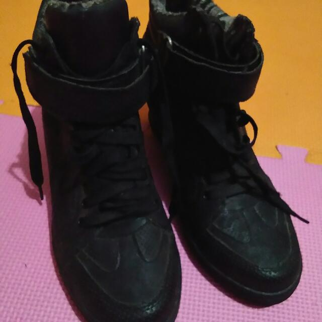 S&H Wedge Boots
