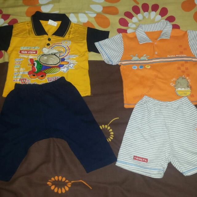 Take It All Setelan Pendek Bayi 12 - 24 Bulan