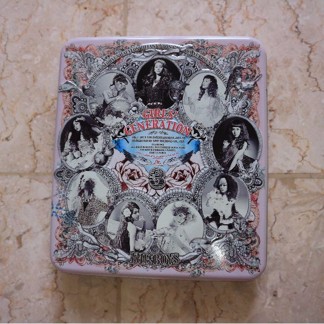 The Boys Album (Girl's Generation) (SNSD)