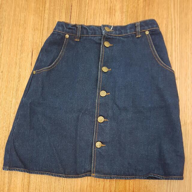 The Fifth Label Denim Short Skirt Size Small