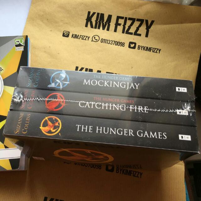 The Hunger Games Complete Set By Suzanne Collins