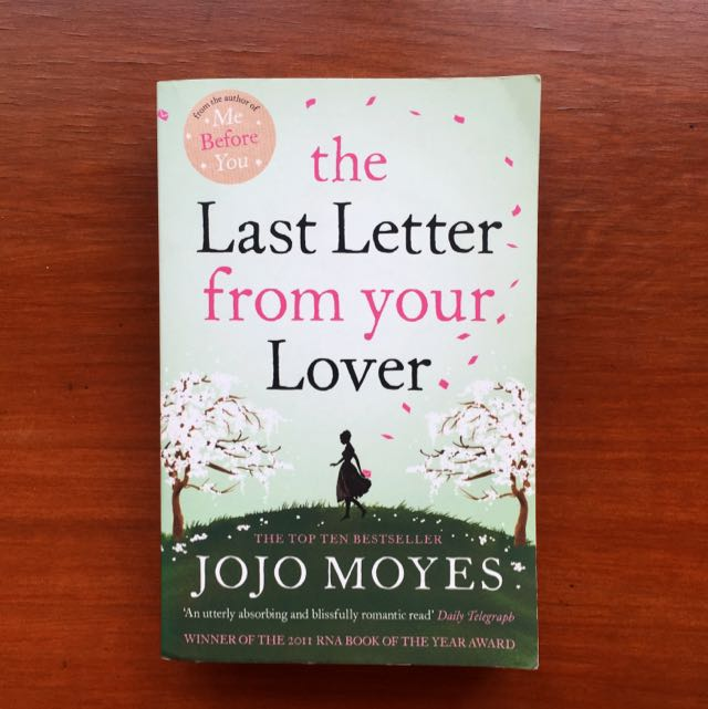 The Last Letter From Your Lover By Jojo Moyes Books & Stationery