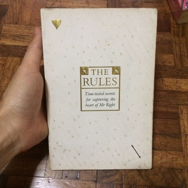 The Rules by Ellen Fein And Sherrie Schneider