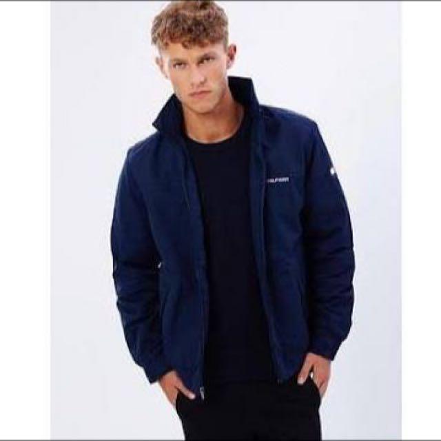 Tommy Hilfiger Navy Yacht Jacket -- SIZE LARGE