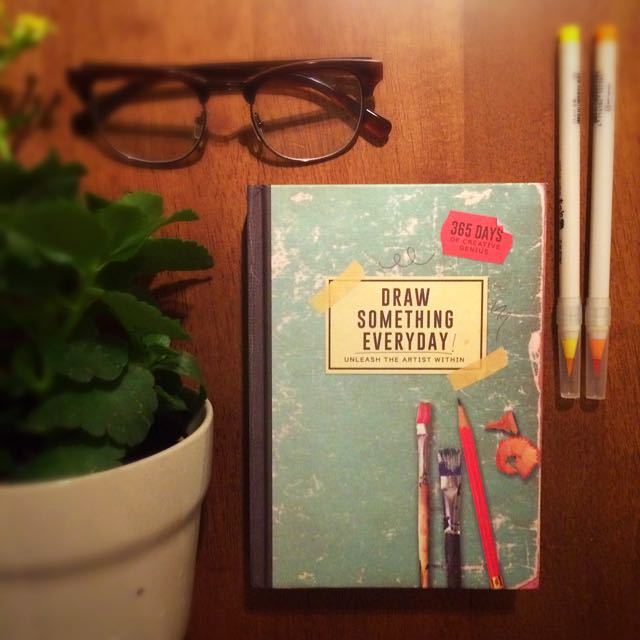 "TYPO ""Draw Something Everyday!"" Visual Diary"