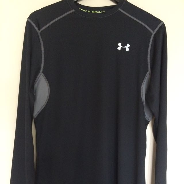 Under Armour Cold Black Long Sleeve Tee